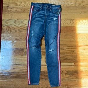 BLANKNYC Jeans with red stripe